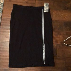 Dresses & Skirts - NWT black pencil skirt!